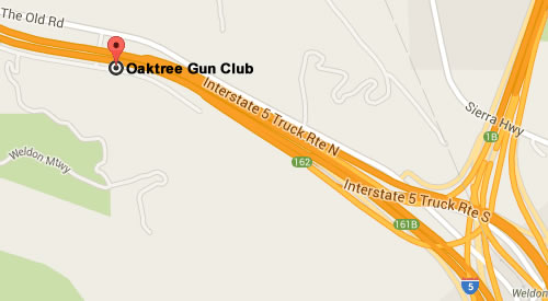 Google Map for Oaktree Gun Club